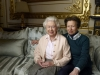 Queen Elizabeth with Pricess Anne for her 90th