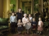 Queen Elizabeth with great-grand children for her 90th