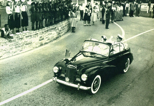 Sunbeam Talbot royal car