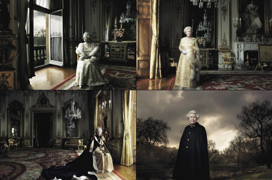 Queen in 2008 - Annie Liebovitz