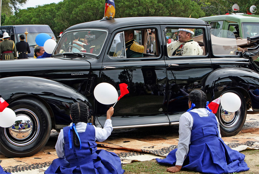 Humber Pullman - King of Tonga