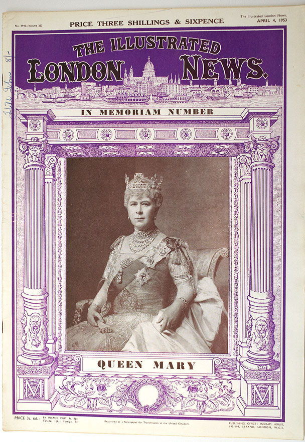 ILN-Queen-Mary-Memoriam-Issue-608