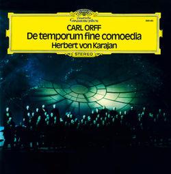 Karajan 1970s Orff